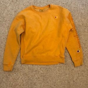 Bright orange champion crew neck